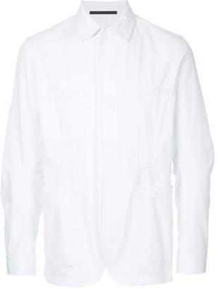 Haider Ackermann pointed collar shirt