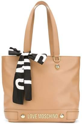 Love Moschino wide shopper bag