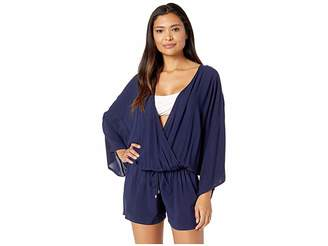 Vince Camuto Surf Shades Cover-Up Romper