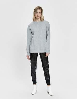 Paco Rabanne Logo Fleece Sweatshirt