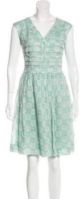 Tory Burch Printed Knee-Length Dress