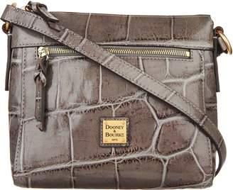 Dooney & Bourke Croco Embossed Leather Crossbody Allison