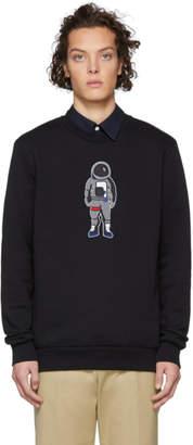Paul Smith SSENSE Exclusive Black Astronaut Sweatshirt