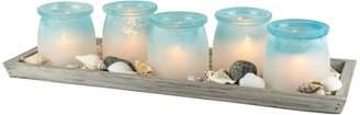 San Miguel 5-Light Votive Candle Holder Set