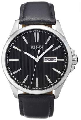 BOSS Men's James Quartz Watch, 42mm