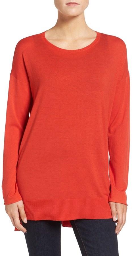 Eileen Fisher Featherweight Merino Wool Sweater 13