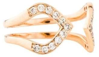 Sydney Evan 14K Diamond Moroccan Ring