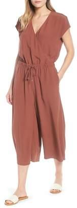 Eileen Fisher Wide Leg Crop Jumpsuit