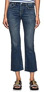 Current/Elliott Women's The Kick High Rise Flared Jeans - Blue