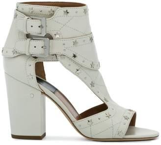 Laurence Dacade White Star Stud Rush 90 sandals