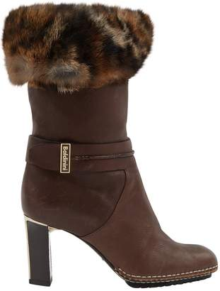Baldinini Leather snow boots