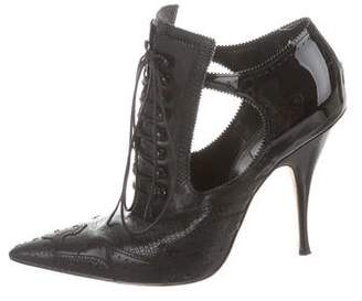 Givenchy Brogue Ankle Boots