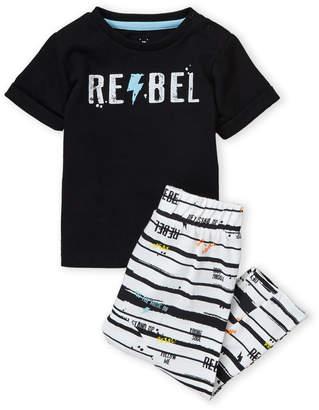 54d1c4be1ea7 Baby Essentials Mini Heroes (Newborn/Infant Boys) Two-Piece Tee & Pants