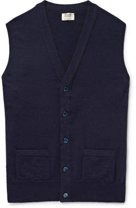 William Lockie Oxton Slim-Fit Cashmere Sweater Vest