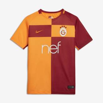 Nike 2017/18 Galatasaray S.K. Stadium Home Older Kids' Football Shirt