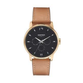 DAY Birger et Mikkelsen Armitron Men's Leather watch - 20/5217BKGPTN
