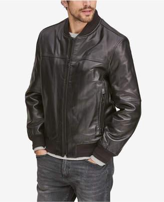 Andrew Marc Men's Summit Leather Bomber Jacket