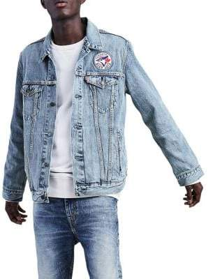 Levi's MLB Toronto Blue Jays Denim Trucker Jacket
