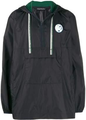 Acne Studios hooded anorak jacket