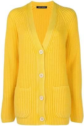 Iris von Arnim V-neck button cardigan