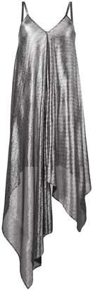 Christopher Kane lamé mesh dress
