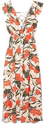 Vince Camuto Tropical-print Cover-up Dress