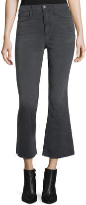 Current/Elliott The High-Waist Flared Kick Jeans