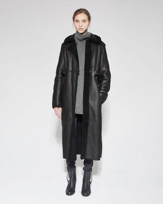 Acne Studios Fergus Shearling Coat $4,100 thestylecure.com