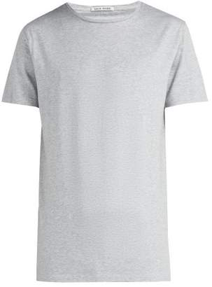 Privee Salle Salle Lothar Cotton T Shirt - Mens - Grey