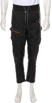 Marcelo Burlon County of Milan Fire Cross Cargo Pants w/ Tags