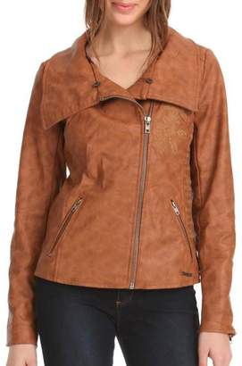 Desigual Soft Brown Coat