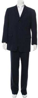 Prada Pinstripe Two-Piece Suit Set