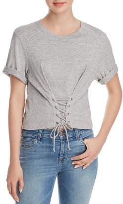 Joie Lizeth Lace-Up Tee