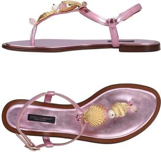 Dolce & Gabbana Toe strap sandals - Item 11454888DD