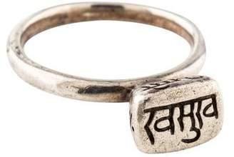 Me & Ro Me&Ro Sanskrit Cocktail Ring