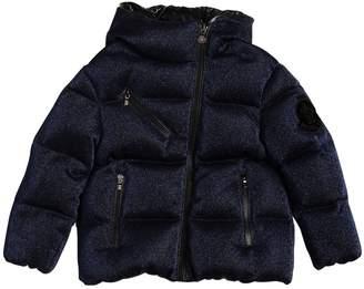 Moncler Taurua Lurex Jersey & Nylon Down Jacket