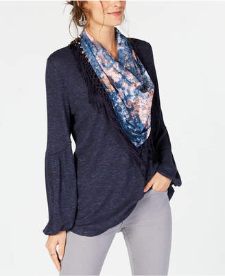Style&Co. Style & Co Petite Scarf Top