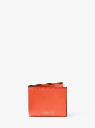 Michael Kors Harrison Slim Leather Billfold Wallet