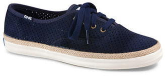 Keds Champion Suede Lace-Up Sneakers $65 thestylecure.com