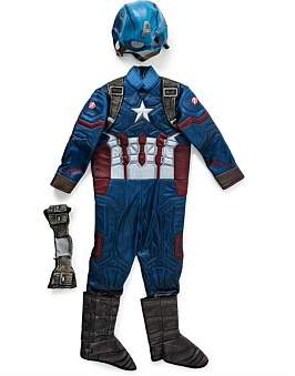 Deerfield Captain America Premium Costum