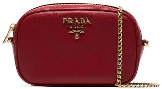 4f9346f26f14 Prada Red Chain Strap Handbags - ShopStyle