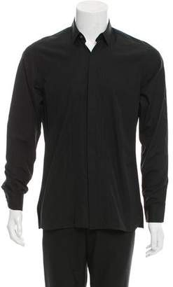 Lanvin Woven Button-Up Shirt w/ Tags