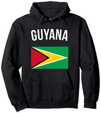 Guyana Flag Guyanese Hoodie Guyana Hooded Sweatshirt