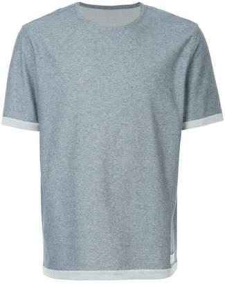 Cerruti contrast hem T-shirt