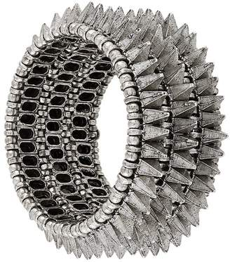 Philippe Audibert elasticated spike bracelet
