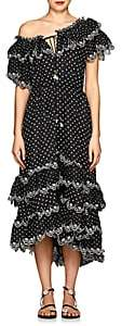 Zimmermann Women's Jaya Tiered Linen Midi-Dress