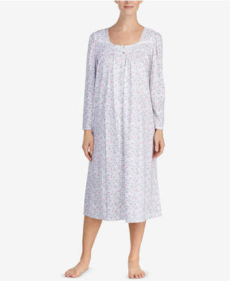 Eileen West Cotton Printed Ballet Nightgown