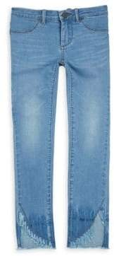 Blank NYC Girl's Sun Bleached Straight-Leg Jeans