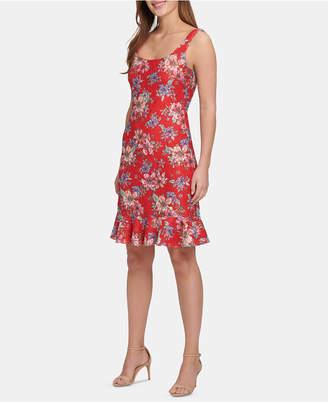 Kensie Floral-Lace Bodycon Dress