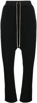 Rick Owens drop-crotch track pants